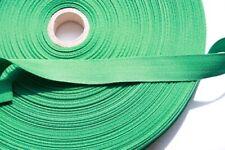 (1,11 €/ 1m) 1m Quality Seam Tape Band 100% Cotton 2cm Wide Green