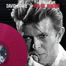 David Bowie colored vinyl lp  rio de janeiro  roxmb033 mint new unplayed