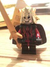 Lego Skull King Minifigure Knights Castle Minifig