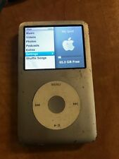 Apple iPod Classic Silver (80 GB) A1238 Tested - TESTED WORKING