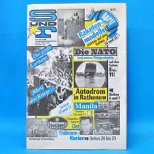 Sport und Technik 4/1989 DDR GST NVA S & T Eberswalde Punischer Krieg NATO D