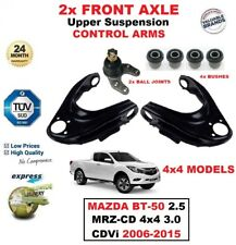 2x FRONT L+R Upper CONTROL ARMS for MAZDA BT50 2.5 MRZ-CD 4x4 3.0 CDVi 2006-2015