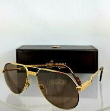 Brand New Authentic HILTON LONDON Sunglasses Exclusive 021 C 54mm 24KT Gold