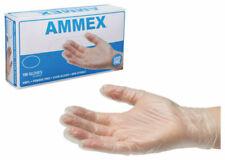 New listing 500 = 5 Boxes Medium Ammex Latex Free Powder Free Exam Gloves Vinyl Non Sterile