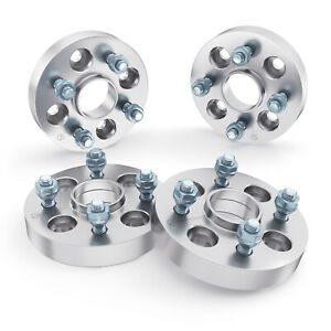 "4pc 25mm (1.0"") Hubcentric 4x100 Wheel Spacers for Acura Integra GSR LS DC2 DB8"