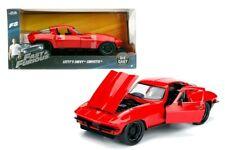 Jada 253203010 Letty's Chevrolet Corvette Rouge - Fast & Furious Maßstab 1 24