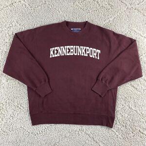 Vintage Y2K Champion Reverse Weave Sweatshirt Adult Large Kennebunkport Maine