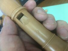 "MOLLENHAUER ""DENNER-COPY"" PEARWOOD SOPRANO RECORDER, SLIGHTLY USED, CLEAN."