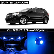 2010-2017 Chevrolet Equinox Blue Interior LED Lights Package Kit
