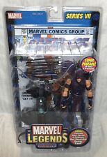 Super HTF ToyBiz Marvel Legends Series VII Hawkeye No Guard On Bow Variant MISB