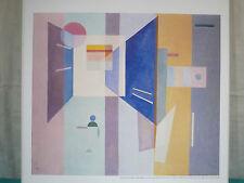 Bilddruck Wassily Kandinsky, Blattgröße 57 x 49 cm