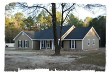 Ranch House Plans 1673 SF 3 Bed 2 Bath Split BR (2 floor options) (Blueprints)