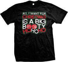 All I Want for Christmas is a Big Booty Ho Ho Ho - Funny Mens T-shirt