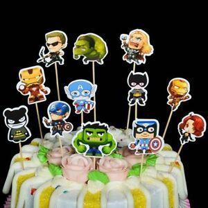 Cake Topper Avengers