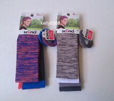 SCUNCI Hair **8 HEADBANDS** Gray White Solid Multi-Color  Accessories NEW