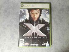 XMEN 3 X-MEN III IL GIOCO UFFICIALE - MICROSOFT XBOX 360 PAL ITALIANO COME NUOVO