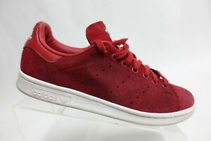 ADIDAS Stan Smith Leather Red Sz 9.5 M Men Athletic Sneakers