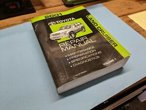 Service Repair Manuals For Toyota Land Cruiser For Sale Ebay