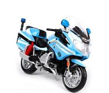 MAISTO 1:18 BMW R1200RT Italy R 1200 RT Police MOTORCYCLE BIKE DIECAST MODEL NIB