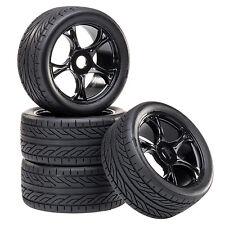 Silla de paseo Neumáticos Set llantas Street con 5-doppelspeichenfelge NEGRO 1:8