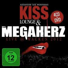 Kiss Lounge & MEGAHERZ Live Wacken 2012 4CD+DVD 2014