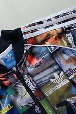Adidas Originals Advert print track bomber tracksuit jacket S Multicoloured