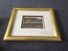 Gold Framed Picture Italian Frieze