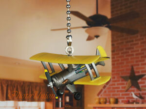 Disney Planes Leadbottom Ceiling Fan Pull Light Lamp Chain Decoration K1135 H