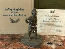 1977 The Fighting Men Of The American Revolution Officer Va The Franklin Mint