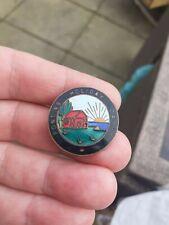 More details for pontins vintage enamel badge 1940s