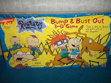 VINTAGE RUGRATS 3D BOARD GAME (NICKELODEON 1997) - BUMP & BUST OUT - NEW SEALED