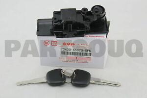 73430658205PK Genuine Suzuki LOCK, GLOVE BOX (BLACK) 73430-65820-5PK