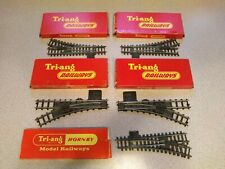 Tri-ang Hornby Railways Points Selection | Series 3 Super 4 R291 R292 R490 R491