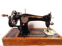 Antique USSR  Sewing Machine Ideal condition. Original Lot
