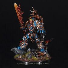 Warhammer 40k Painted Space Marines Ultramarines Primarch Roboute Guilliman