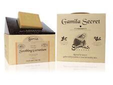 Gamila Secret Cleansing Bar soap Soothing Geranium (Premium) 100% NATURAL