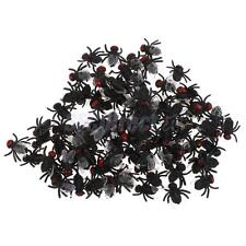 100pcs Flies Bugs Plastic Toy Picnic Joke Prank Funny Halloween Party Decoration