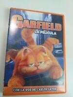 Dvd  Garfield la pelicula con la voz de carlos latre
