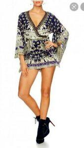 Camilla Franks A Little Past Twilight Kimono Playsuit Size 1 Small $4 EXPRESS