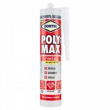 Bostik Poly Max Cristal Express in Cartuccia da 300 gr. Sigillante Universale