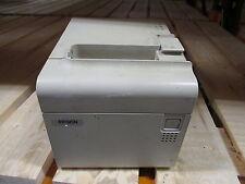 Epson TM-T90 FP90 PS/2 Thermal POS Ticket Receipt Printer Drucker WHITE INCL PSU