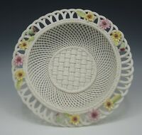 BELLEEK IRELAND 2006 ANNUAL GERBERA BOUQUET BASKET LE 254/1000 9""