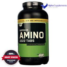 Optimum Nutrition Superior Amino 2222 Micronized BCAA Acids | 320 TABS - 160Serv