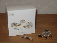 SWAROVSKI MEMORIES *NEW* Tortue Boîte à bijoux Turtle Jewelry Box 253443 L.6,3cm