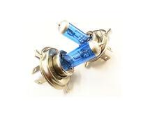 H4 Xenon Super White 12v 55w 8500k verdaderos halogen azul recubierto nuevo