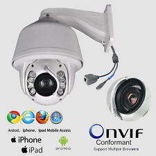 20x Zoom 1.3MP 720P Outdoor PTZ IP Network Speed CCTV Auto Tracking Dome Camera