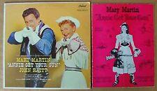 ANNIE GET YOUR GUN - CAPITOL LP + ORIGINAL CAST PROGRAM