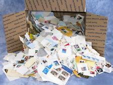 Bulk Medium Priority Box Filled Stamps on Paper ** Kiloware Stuff Lot Bargain **