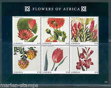 LIBERIA 2013 FLOWERS OF AFRICA  SHEET  MINT NH