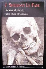 DICKON DIABLO Y OTROS RELATOS (SHERIDAN LE FANU) - BLANDA - USADO - PROMENADE